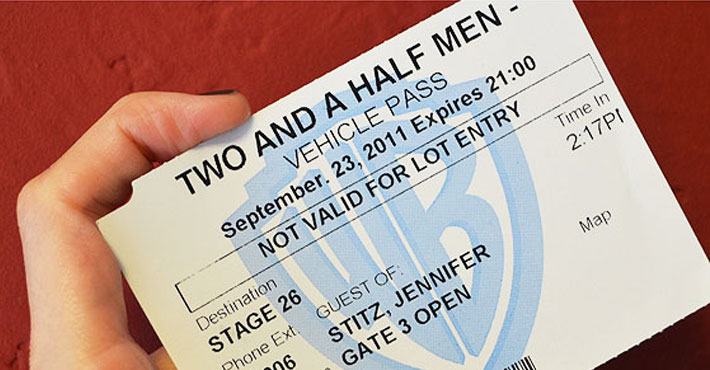destaque warner - Gravação de Two and a Half Men na Warner | Eu fui...