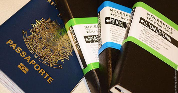 moleskine destaque - Moleskines para planejar e eternizar a viagem