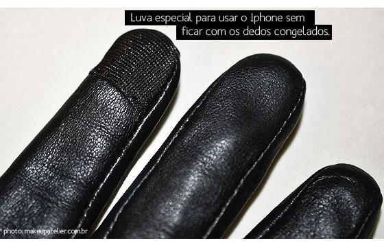 luva para iphone