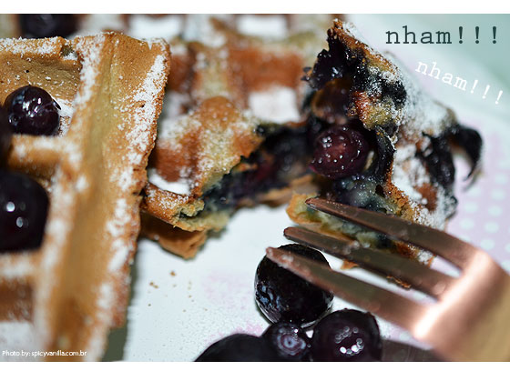 waffles blueberry