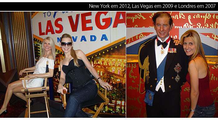 madame tussauds ny Vegas London