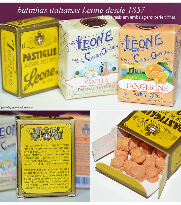 pastilhas Leone
