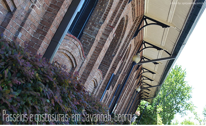 savannah georgia - Passeios e comidinhas em Savannah, Georgia
