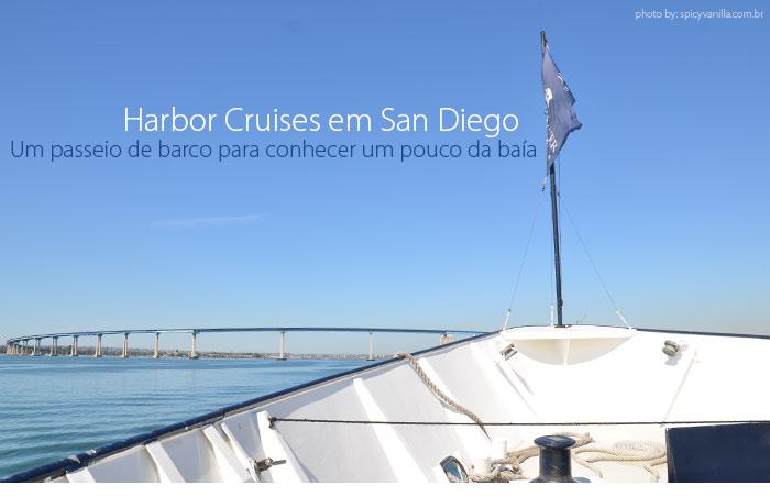 cruzeiro san diego - Um passeio de barco por San Diego