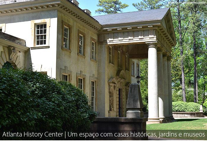 atlanta history center - Atlanta History Center | Um espaço com casas históricas, jardins e museus