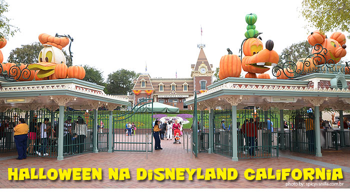 disneyland - Halloween na Disneyland California