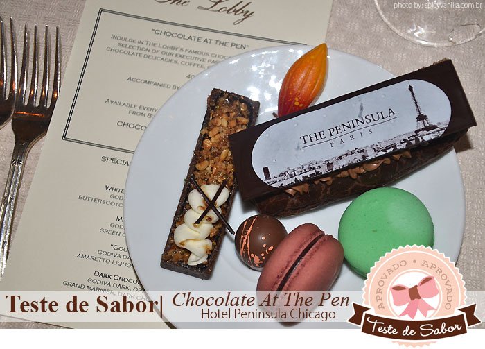 "buffet chocolate peninsula chicago - Teste de Sabor | ""Chocolate at The Pen"" - O incrível buffet de chocolate no The Peninsula Chicago"
