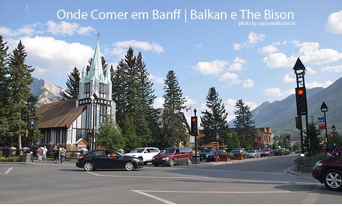 onde comer banff - Onde comer em Banff | O grego Balkan e o regional The Bison.