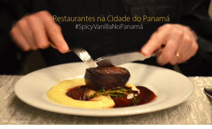 restaurantes panama - Restaurantes na Cidade do Panama