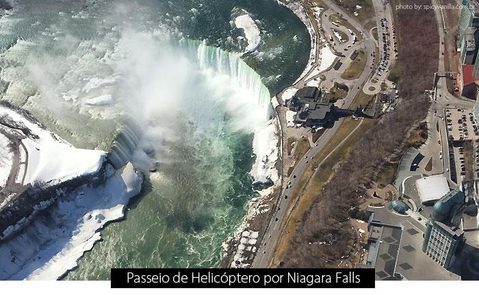 helicoptero niagara falls - Passeio de helicóptero por Niagara Falls