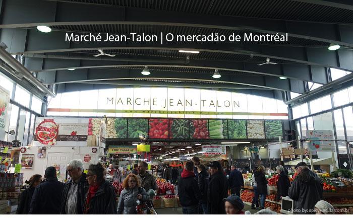 Marche Jean Talon em Montreal
