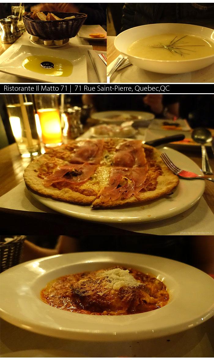 restaurantes quebec Ristorante Matto 71