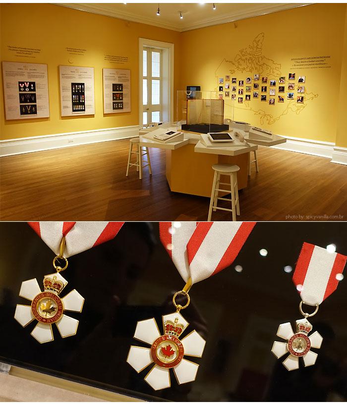 Rideau Hall salao medalhas