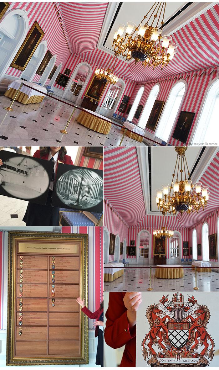 Rideau Hall tent room