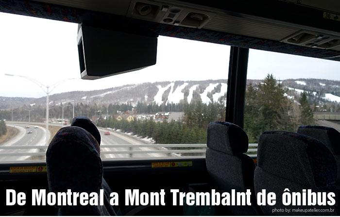 Mont Tremblant onibus para Montreal