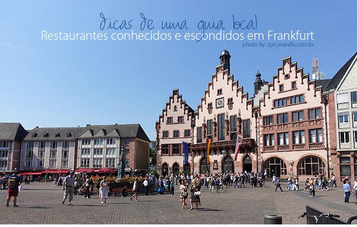 comidinhas em frankfurt - Restaurantes conhecidos e escondidos em Frankfurt