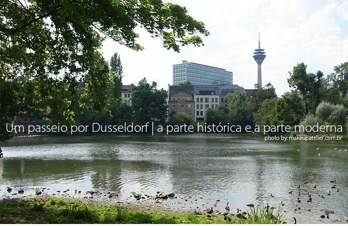conhecendo dusseldorf - Um passeio por Dusseldorf | a parte histórica e a parte moderna