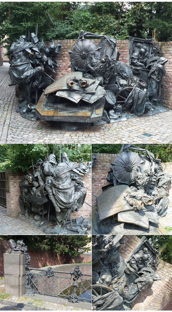 escultura Düsseldorf