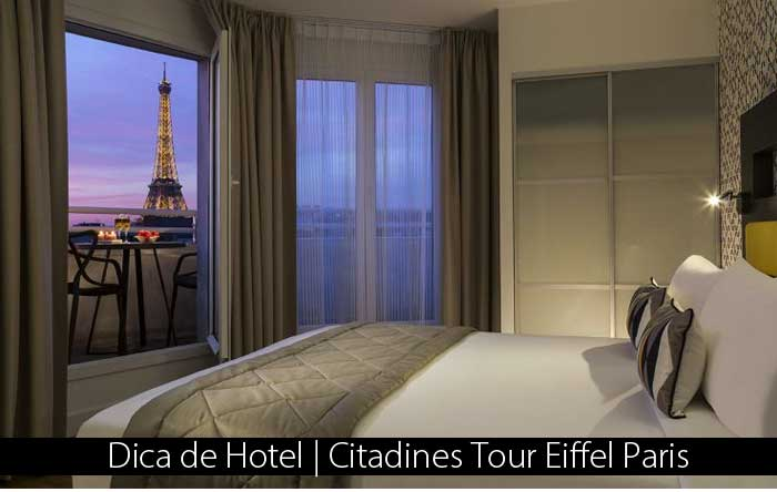 Citadines Tour Eiffel Paris - Dica de Hotel | Citadines Tour Eiffel Paris