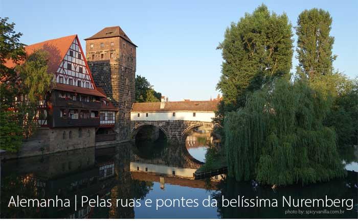 Pelas ruas de Nuremberg - Alemanha | Um passeio pelas ruas e pontes de Nuremberg.