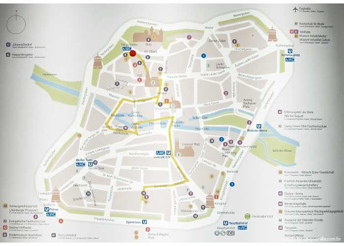 mapa-Nuremberg