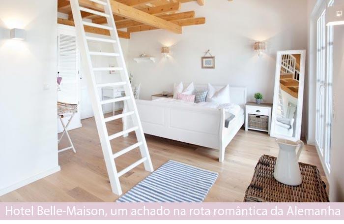 hotel belle maison capa - Dica de Hotel | Belle-Maison, um achado na rota romântica da Alemanha