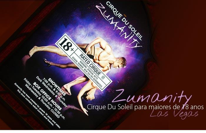 cirque du solei zumanity - Zumanity, o Cirque du Soleil para maiores de 18 anos