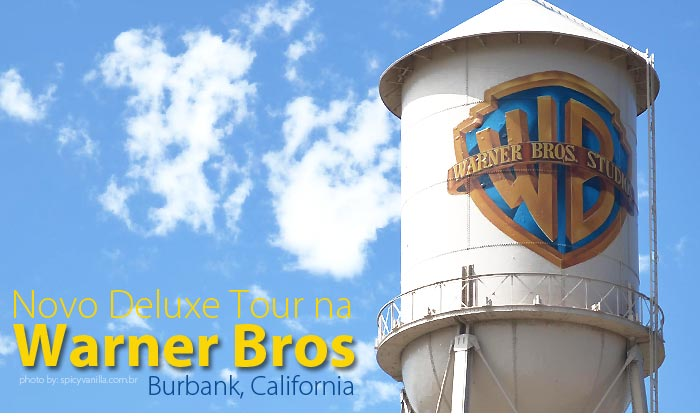 warner tour video - Vídeo | Novo Deluxe Tour na Warner Bros em Los Angeles