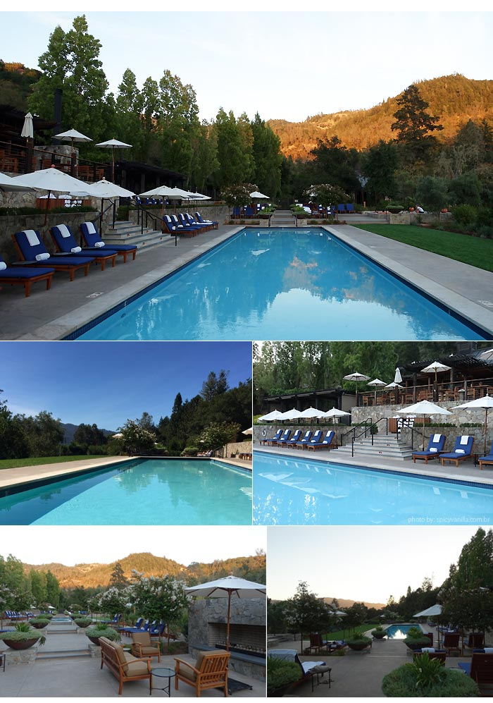 calistoga ranch hotel pool - Dica de Hotel | Calistoga Ranch Lodge e Spa em Napa Valley