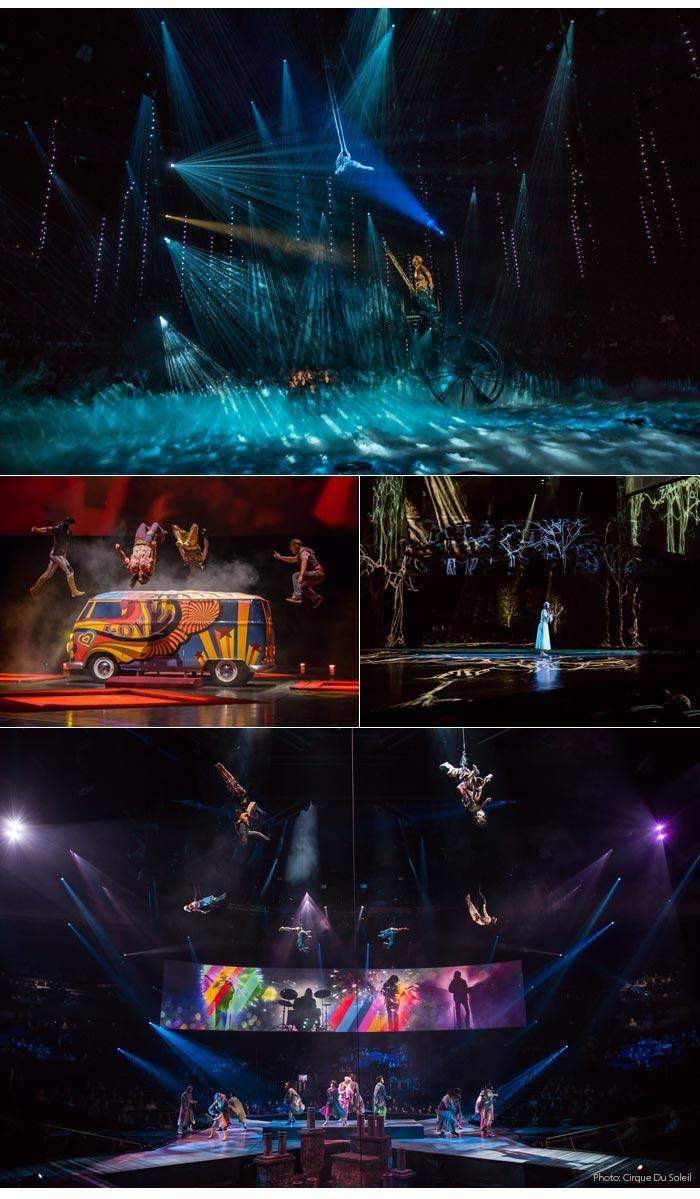 cirque du soleil vegas - Cirque Du Soleil | The Beatles LOVE em Las Vegas