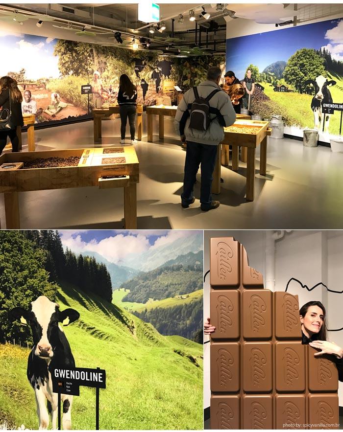 fabrica cailler broc tour - Visitando a fábrica de chocolates Cailler na Suiça