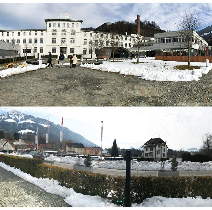 fabrica cailler suica - Visitando a fábrica de chocolates Cailler na Suiça