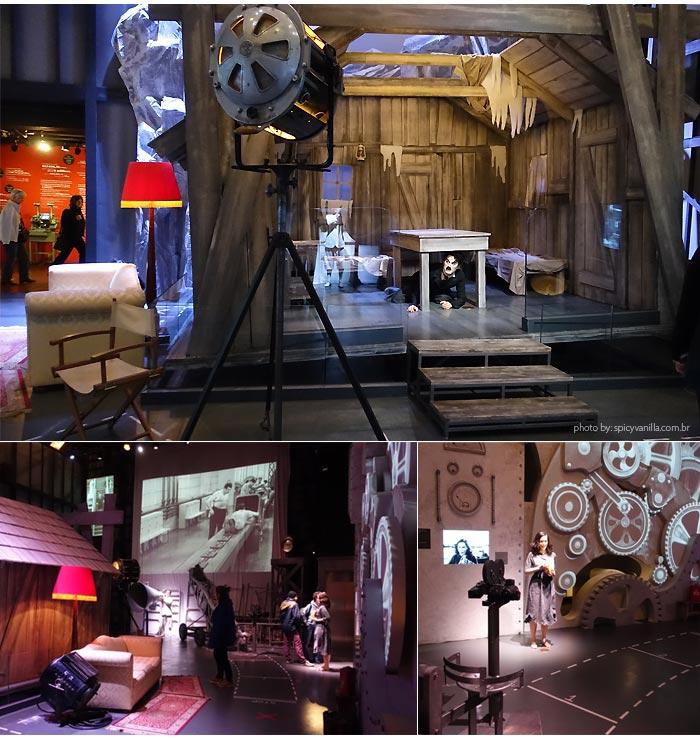 museu chaplin backstage - Chaplin's World | Museu e mansão de Charlie Chaplin em Vevey na Suíça