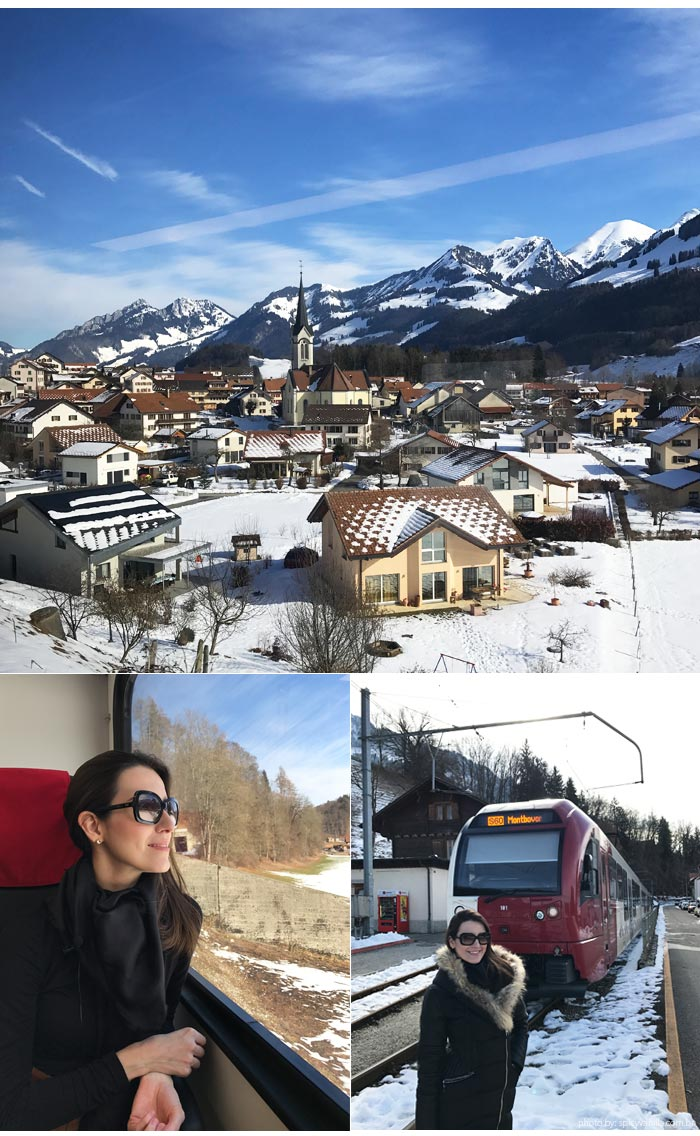 trem suica broc 1 - Visitando a fábrica de chocolates Cailler na Suiça