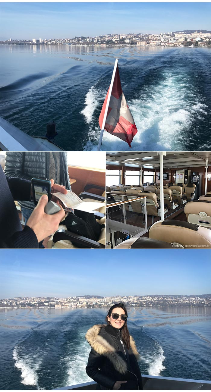 barco para evian - Lausanne para Evian | Um bate e volta de barco entre Suiça e França