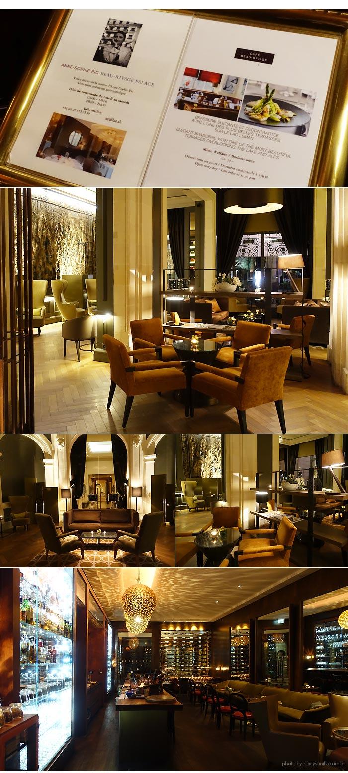 hotel beau rivage bar - Dica de Hotel | Beau-Rivage Palace em Lausanne Suíça
