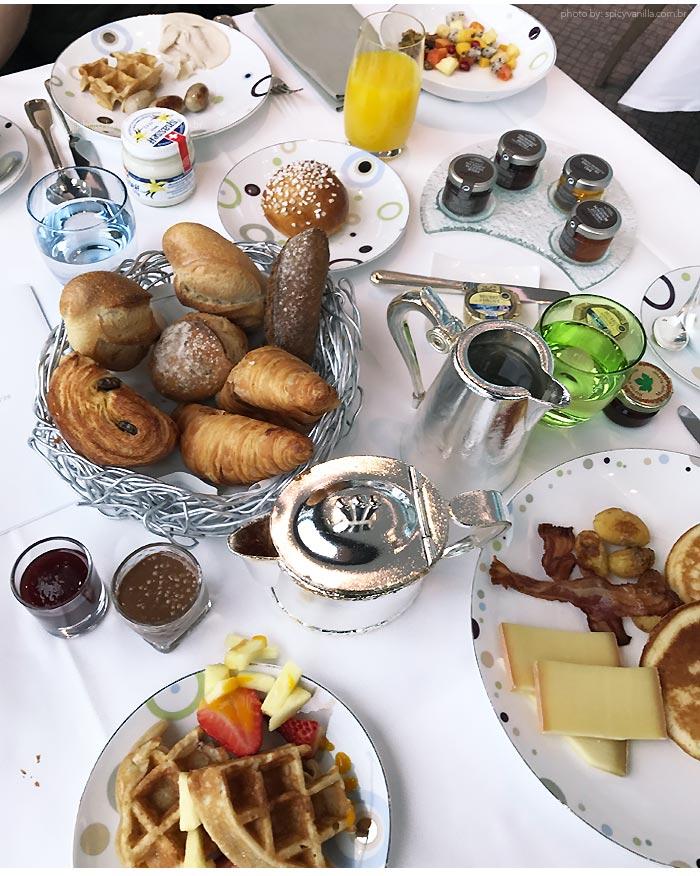 hotel beau rivage breakfast - Dica de Hotel | Beau-Rivage Palace em Lausanne Suíça