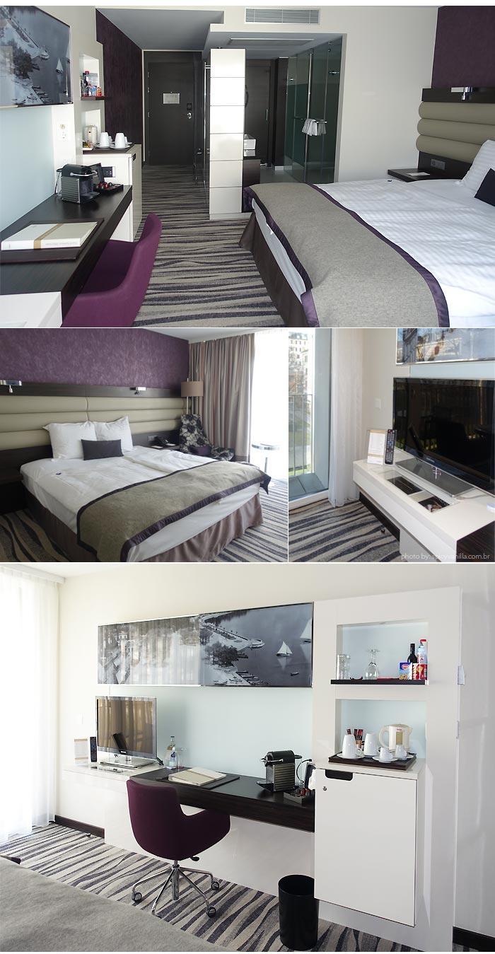 movenpick lausanne room - Dica de Hotel | Mövenpick Hotel Lausanne - Suiça