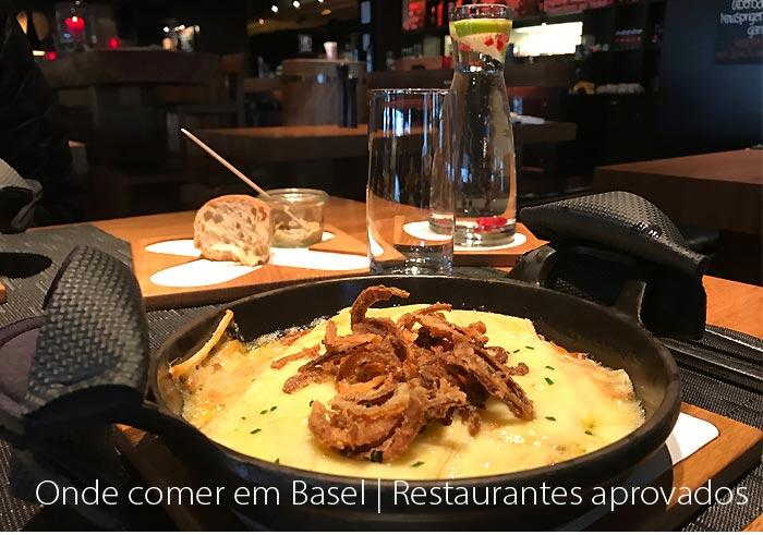 restaurantes em basel - Onde comer em Basel na Suiça (Basileia) | Restaurantes aprovados