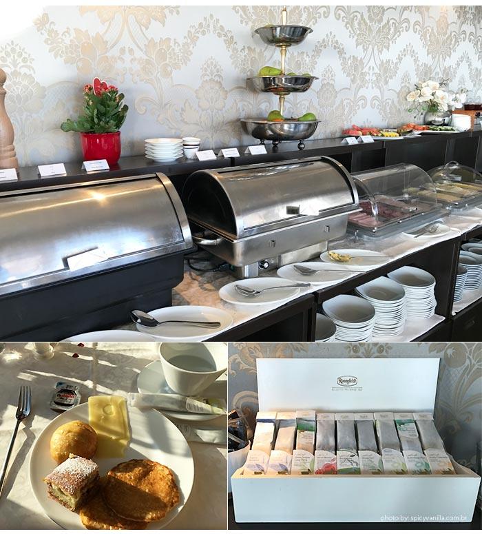 Hotel Chateau Gutsch breakfast - Dica de Hotel | Hotel Château Gütsch em Luzern (Lucerna) na Suiça Alemã