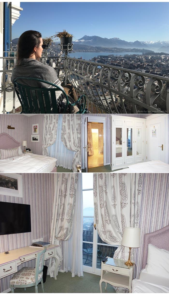 Hotel Chateau Gutsch suite - Dica de Hotel | Hotel Château Gütsch em Luzern (Lucerna) na Suiça Alemã