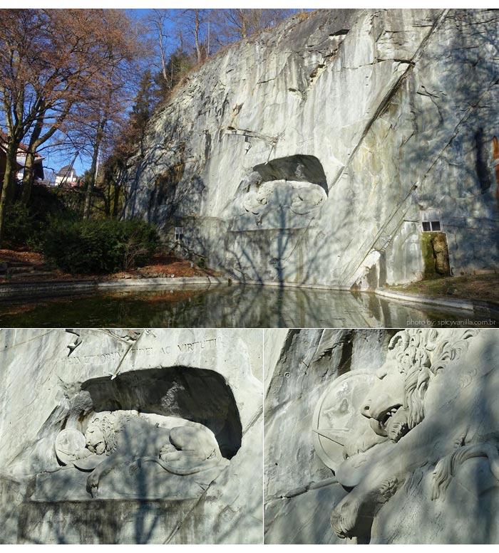 leao monumento Luzern - Luzern (Lucerna - Suíça)| Dicas de hotel, passeios e o que fazer na cidade.