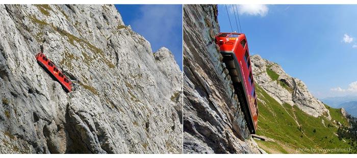 pilatus trem Luzern - Luzern (Lucerna - Suíça)| Dicas de hotel, passeios e o que fazer na cidade.