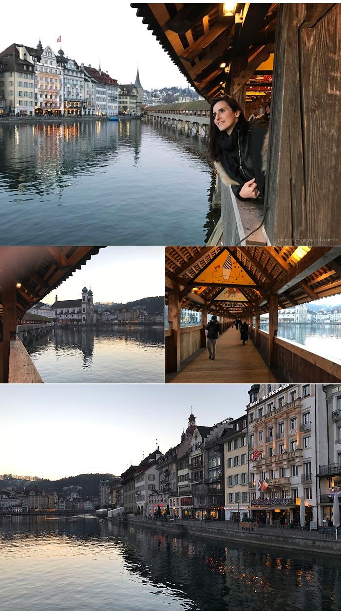 ponte madeira Luzern - Luzern (Lucerna - Suíça)| Dicas de hotel, passeios e o que fazer na cidade.