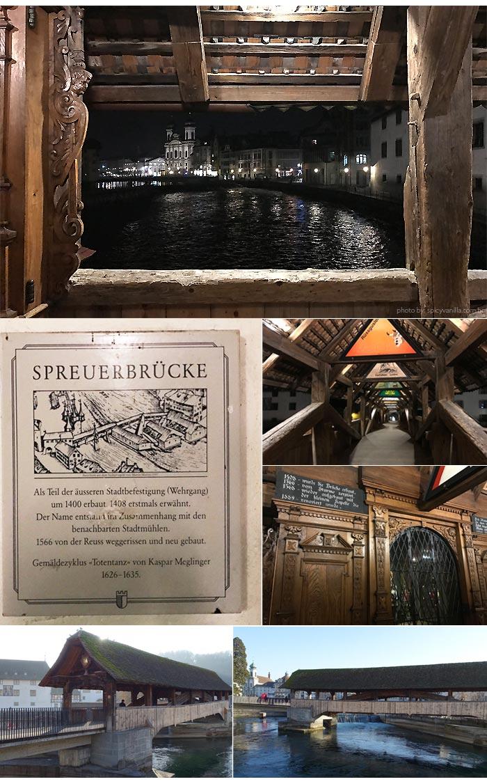 spreuerbruck Luzern - Luzern (Lucerna - Suíça)| Dicas de hotel, passeios e o que fazer na cidade.
