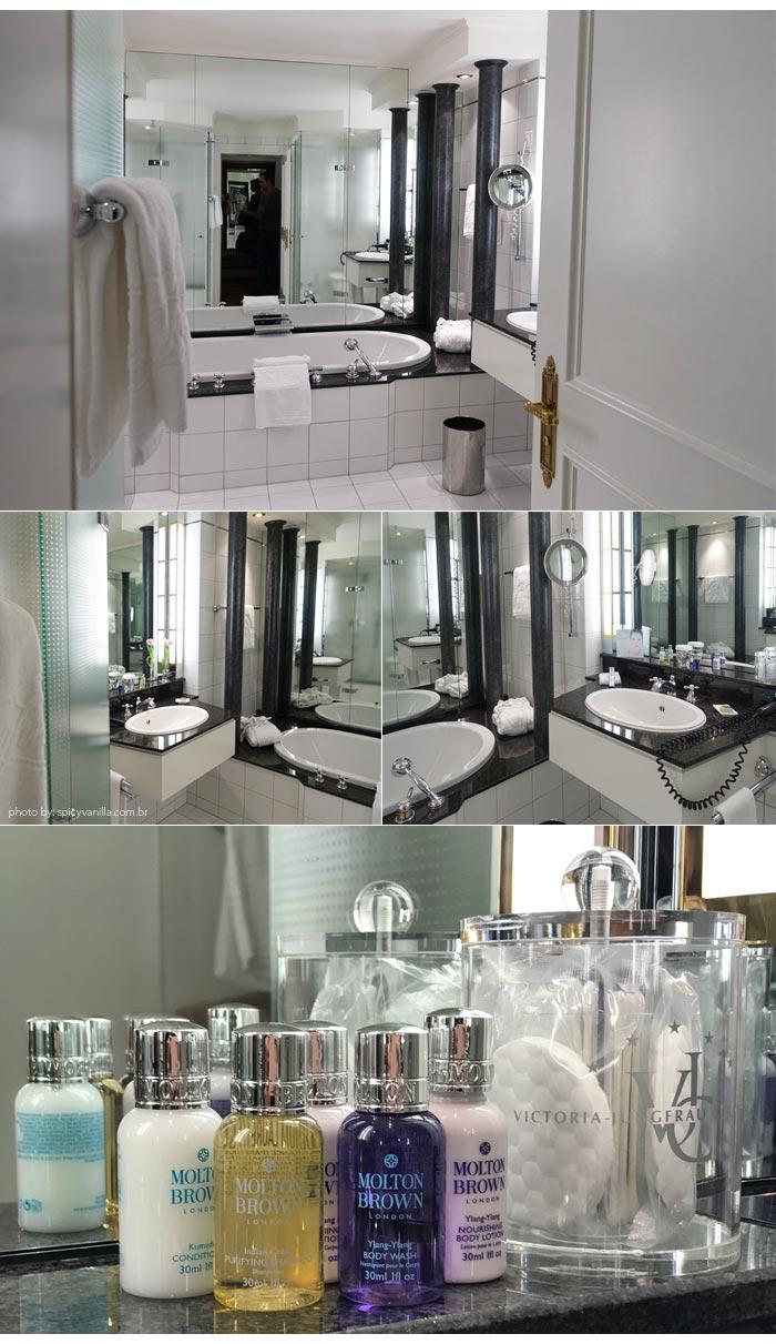 victoria jungfrau hotel banheiro - Dica de Hotel | Victoria Jungfrau Grand Hotel & Spa em Interlaken