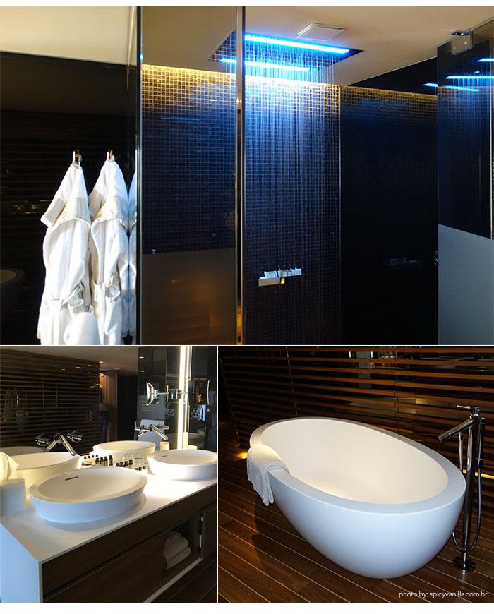 banheira the view lugano - Dica de Hotel | The View Lugano, um 5 estrelas romantico e espetacular na Suíça