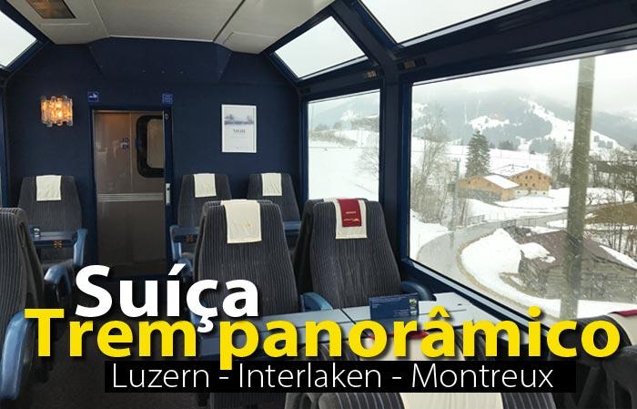 capa trem suica interlaken 1 - Trem panorâmico na Suíça | Luzern - Interlaken - Montreux