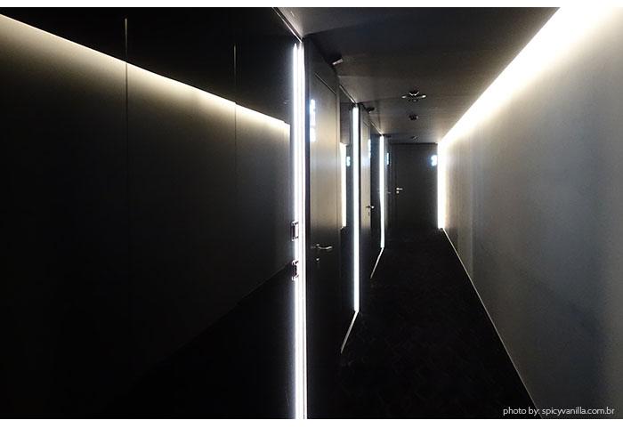 corredor the view lugano - Dica de Hotel | The View Lugano, um 5 estrelas romantico e espetacular na Suíça
