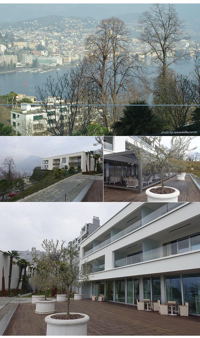 fora hotel the view lugano - Dica de Hotel | The View Lugano, um 5 estrelas romantico e espetacular na Suíça